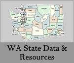 WA state & county data & resources on ATOD