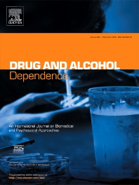 Drug Alcohol Depend cover