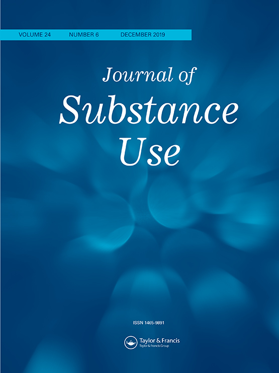 J Subst Use cover