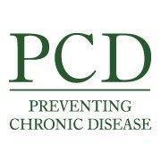 Preventing Chronic Disease cover