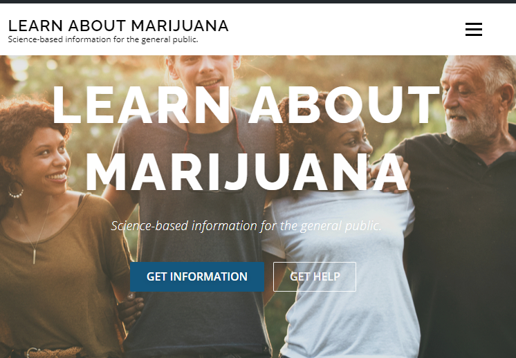 Learn About Marijuana home page
