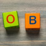 Colored blocks spelling out JOBS