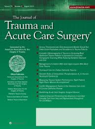 Journal of Trauma and Acute Care Surgery cover